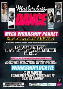 urban dance nijmegen, dansacademie workshops