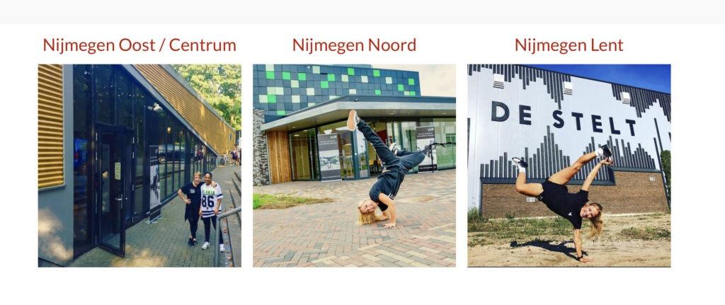 nieuwe locatie lent dansschool movingmatters nijmegen-noord start nieuw seizoen hip hop urban stoere moves jongens meisjes stelt grote boel centrum Nijmegen waalbrug