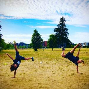 Dance Lent dansen in lent De Stelt waalbrug Hip Hop urban handstand stoer jongens meisjes volwassenen sporten gymzaal de verbinding kindcentrum