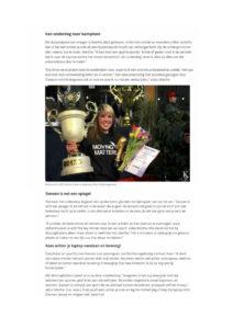 Dansschool Nijmegen prijzen wedstrijden Marthe Weijers World Cup winnaar Nederlands Kampioen street dance Lent Dancehall Oosterhout dansles