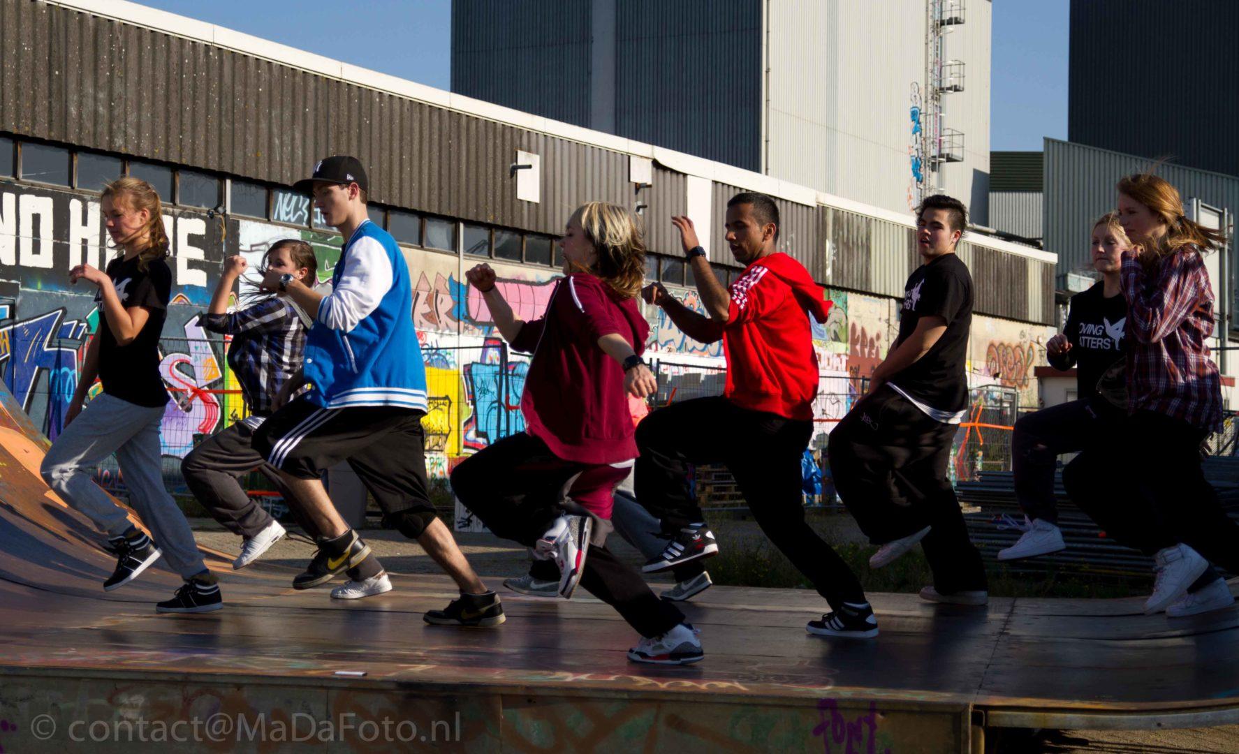 Waalhalla Hip Hop honigcomplex skatehal dicht bij snelbinder