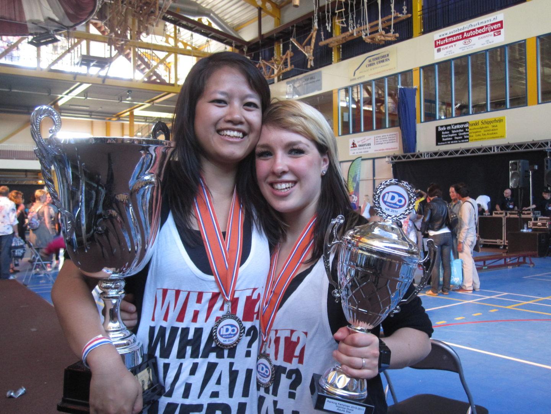 dansschool streetdance, bekers, prijzen Nederlands Kampioenschap
