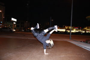 breakdance kinderen, Los Angels