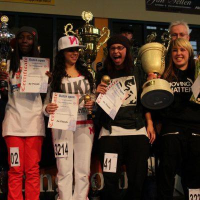 Hip Hop gelderland Dutch open winnaar streetdance meisjes dans academie kampioen street dance dansen voor kinderen