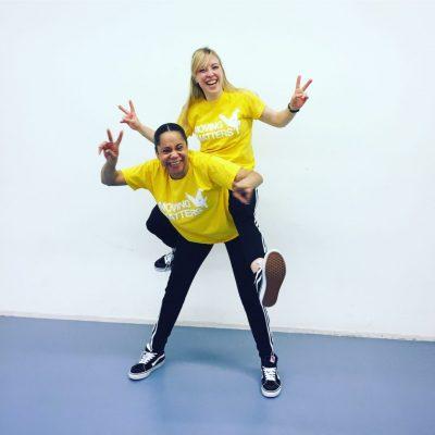 dansles kind docenten MovingMatters plezier Marthe en Breanne over ons dans academie dansles Gelderland Afro dance streetdance meisjes
