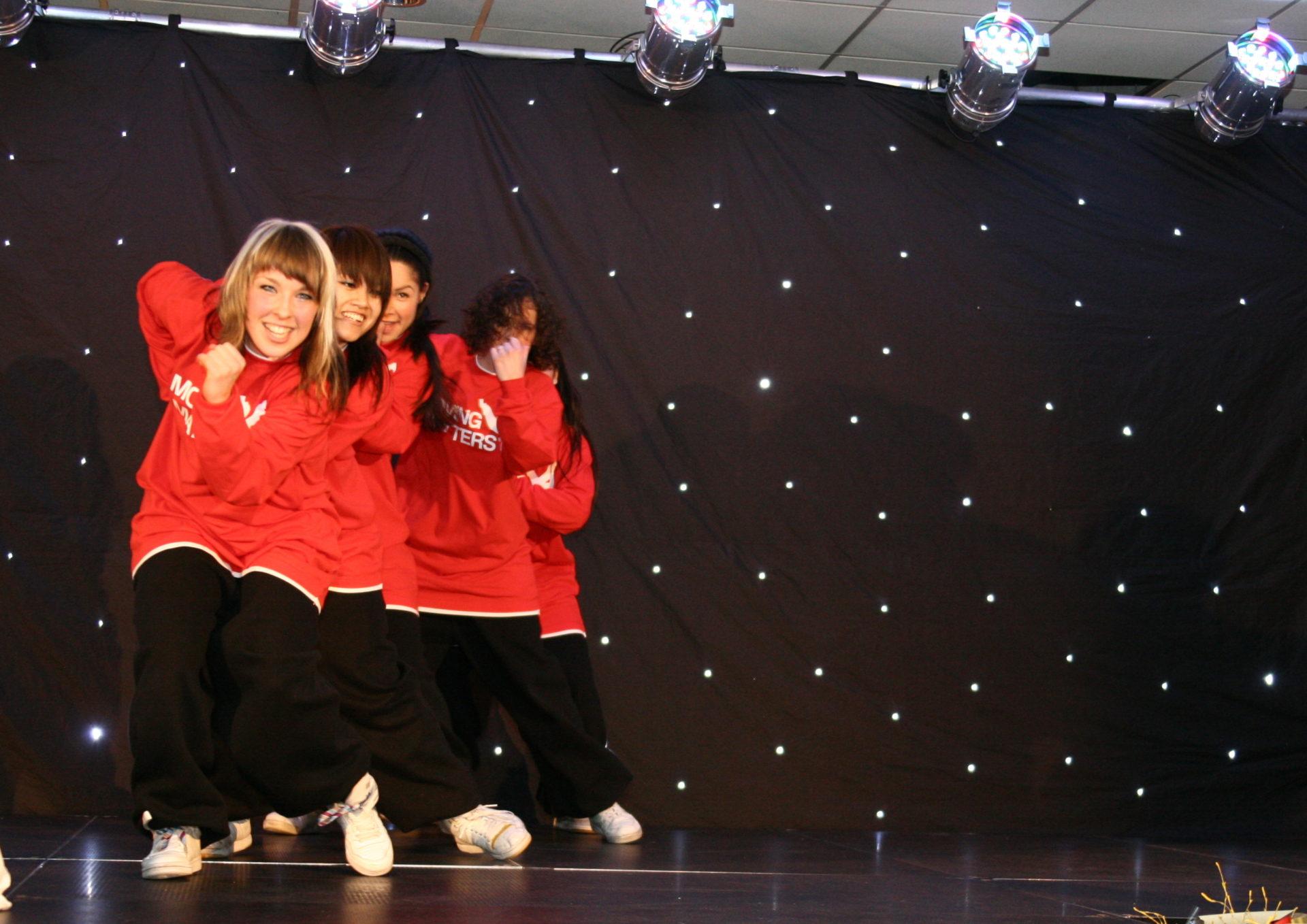 Sportgala dansschool MovingMatters, Hip Hop Urban optreden, showcase performance Nijmeegs sportgala NEC stadion dans